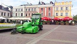 Oczyszczanie ulic Miasta Zamość(2013-2015)