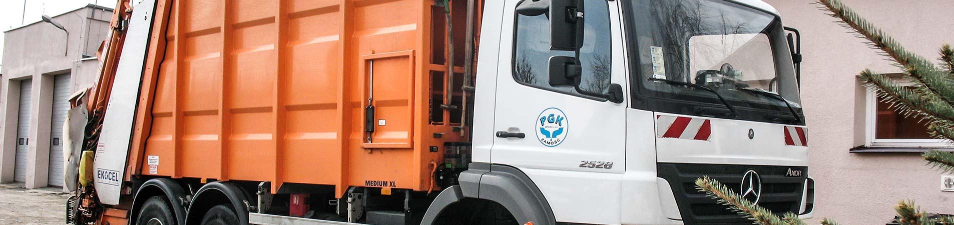 """Mobilną zbiórka odpadów wielkogabarytowych oraz """"elektrośmieci"""""""