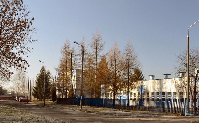 Budynek zakładu wodociągów