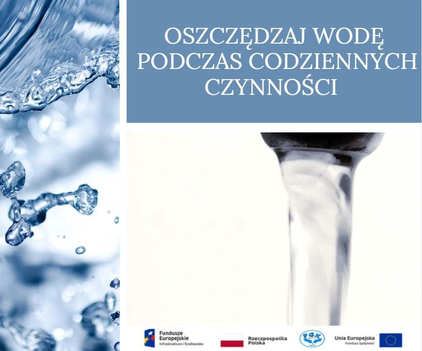 Oszczędzaj wodę wykonując codzienne czynności