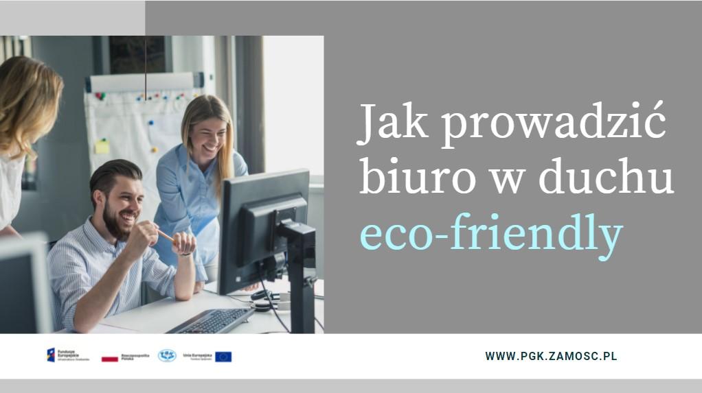 Jak prowadzić biuro w duchu eco-friendly?