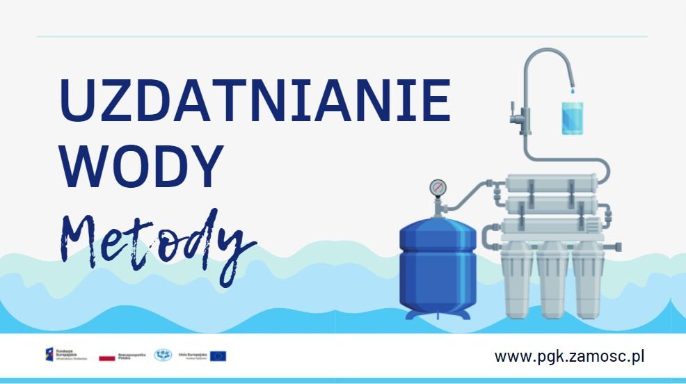 Uzdatnianie wody - metody
